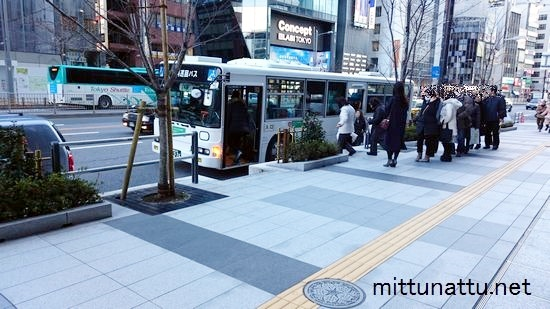 メトロリンク日本橋のバス停!全て写真で紹介これで迷いません!