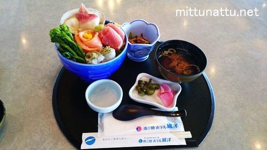 南三陸町のキラキラ丼!ホテル観洋で春をつげる色鮮やかな丼を実食!
