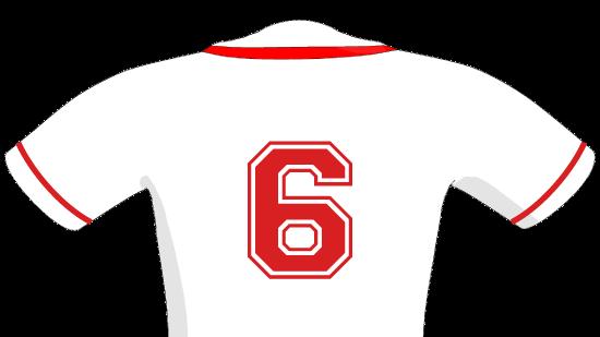 野球で背番号6番はどんな意味がある?プロとアマチュアで徹底研究 !